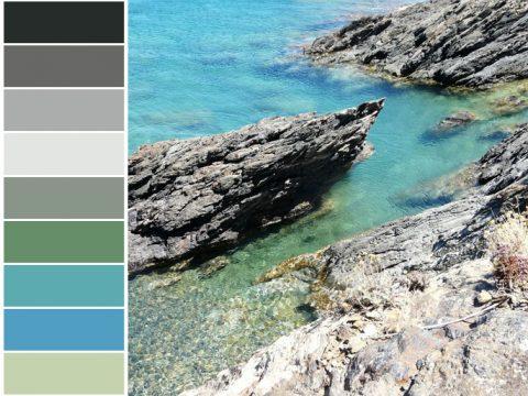 Échantillons de couleurs, nuanciers permettant de déterminer la bonne couleur pour votre intérieur