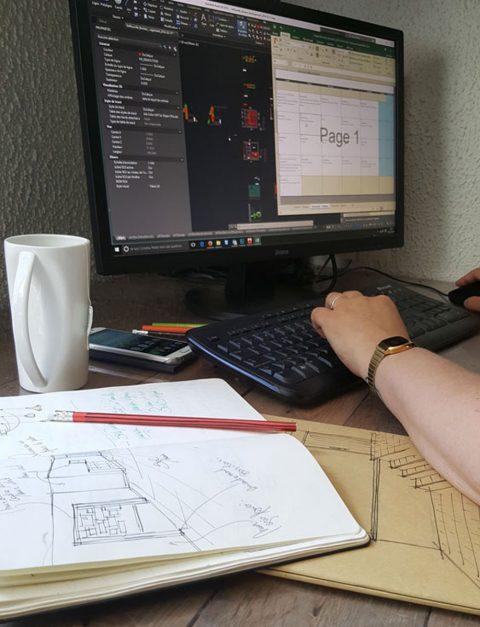 Retranscrire les côtes sur les logiciels de dessin