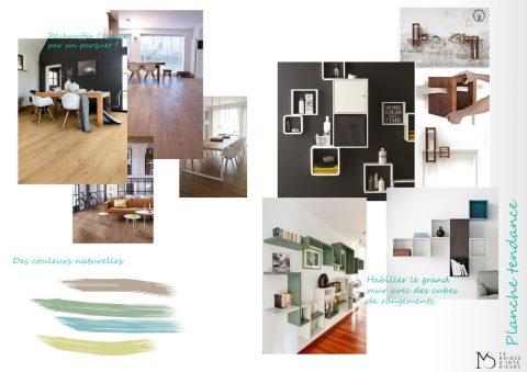 planches tendances salon couleurs