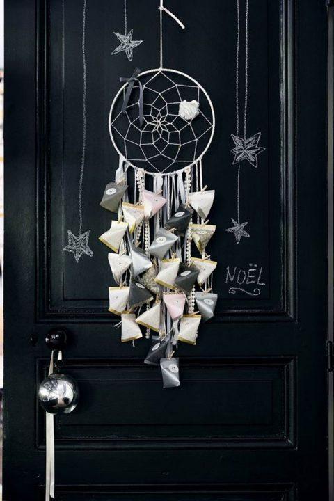 Porte noire, attrape cœur et berlingots... C'est un calendrier de l'avent !!!