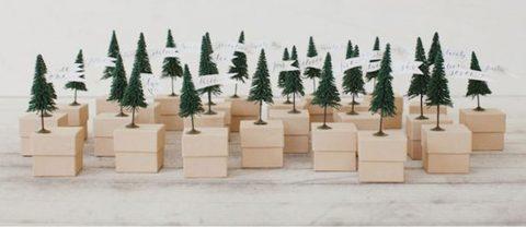 Cette petite forêt calendrier de l'avent ne doit contenir que des bagues ??? Ou UN très bon chocolat! ;)