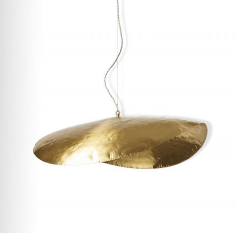 Suspension Brass en Laiton de chez Merci