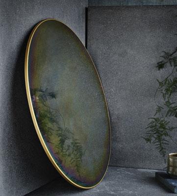 Miroir Arc en ciel rond
